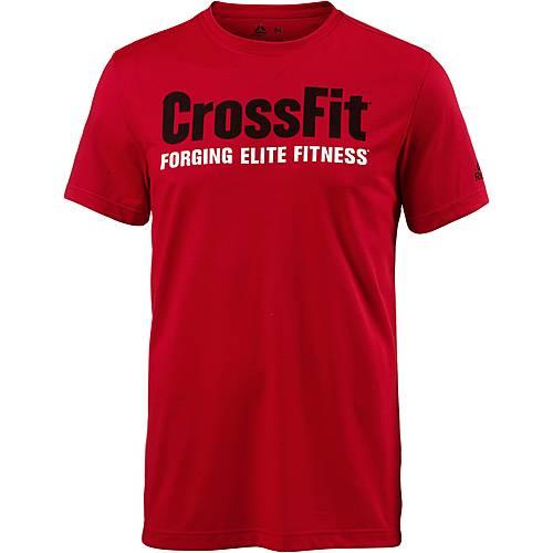 Reebok Crossfit Speed Funktionsshirt Herren primal-red