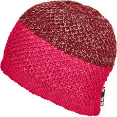 ORTOVOX CROCHET Beanie neon hot coral