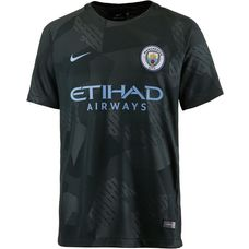 Nike Manchester City 17/18 CL Fußballtrikot Kinder OUTDOOR GREEN/(FIELD BLUE)