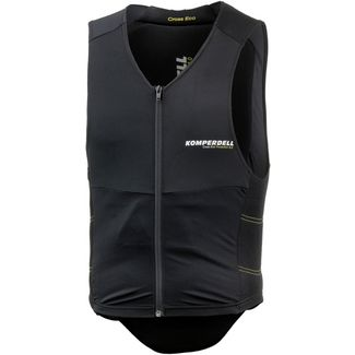 KOMPERDELL Cross SUPER ECO Vest with Belt Protektorenweste Herren black