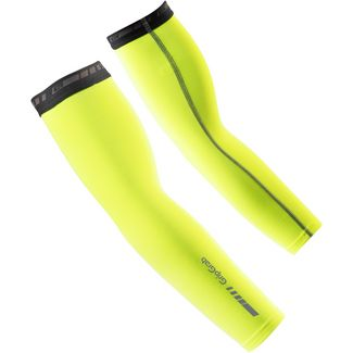 GripGrab Arm Warmers Armlinge fluo yellow