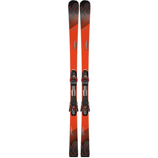 K2 Speed Charger All-Mountain Ski black-flo-red