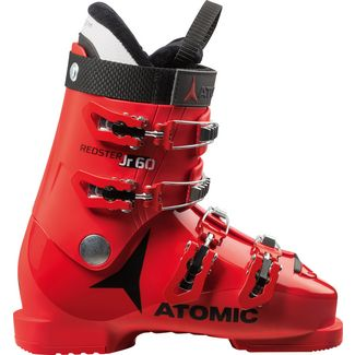 ATOMIC Redster Jr 60 Skischuhe Kinder red-black