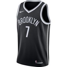 Nike JEREMY LIN BROOKLYN NETS Basketball Trikot Herren BLACK