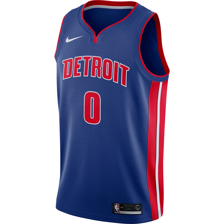 Image of Nike ANDRE DRUMMOND DETROIT PISTONS Basketballtrikot Herren