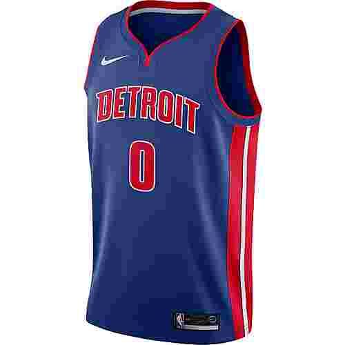 Nike ANDRE DRUMMOND DETROIT PISTONS Basketballtrikot Herren RUSH BLUE/UNIVERSITY RED