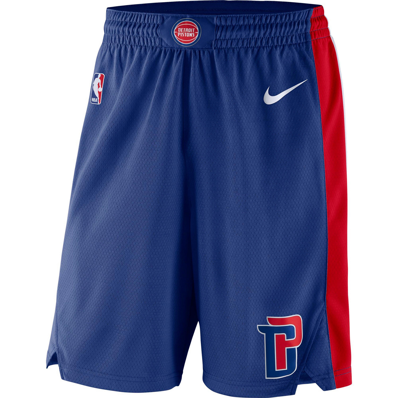 Nike DETROIT PISTONS Shorts Herren