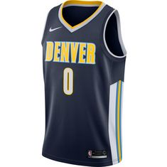 Nike MUDIAY EMMANUEL DENVER NUGGETS Basketball Trikot Herren COLLEGE NAVY/WHITE