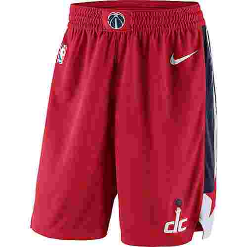 Nike WASHINGTON WIZARDS Shorts Herren UNIVERSITY RED/COLLEGE NAVY/WHITE/WHITE