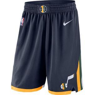 Nike UTAH JAZZ Shorts Herren COLLEGE NAVY/SUNDIAL/WHITE