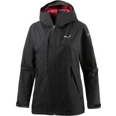 SALEWA Fanes 2 GTX 2L Hardshelljacke Damen black out