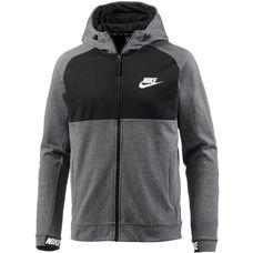 Nike NSW AV15 Sweatjacke Herren charcoal-heathr-black-black-white