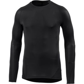 adidas Alphaskin Tech Kompressionsshirt Herren black