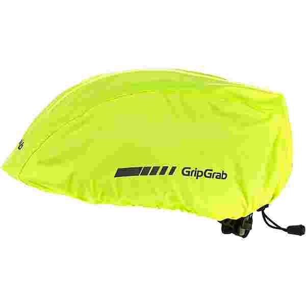 GripGrab Helmet Cover Fahrradhelmüberzug fluo yellow