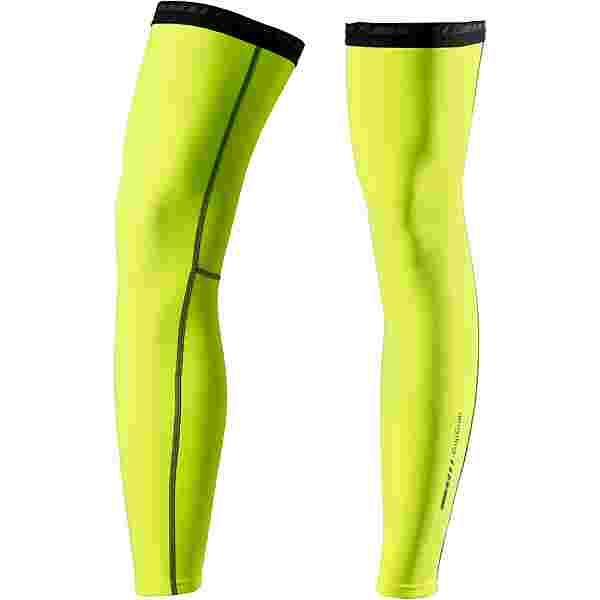 GripGrab Leg Warmers Beinlinge fluo yellow