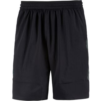 Under Armour HeatGear Threadborne Vanish Funktionsshorts Herren black-metallic-iron