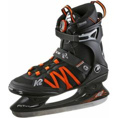 K2 Fit Ice Boa Schlittschuhe Herren black-orange