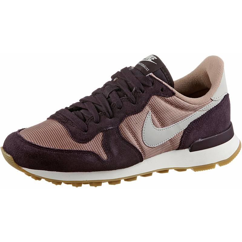 sports shoes 5168f 61cb5 ... spain nike internationalist sneaker damen particle pink light bone port  wine cd094 e1513