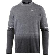 Nike Dri-Fit Knit Laufshirt Herren anthracite-wolf-grey-dark-grey