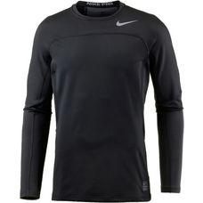 Nike Pro Hyperwarm Funktionsshirt Herren black-cool-grey-cool-grey