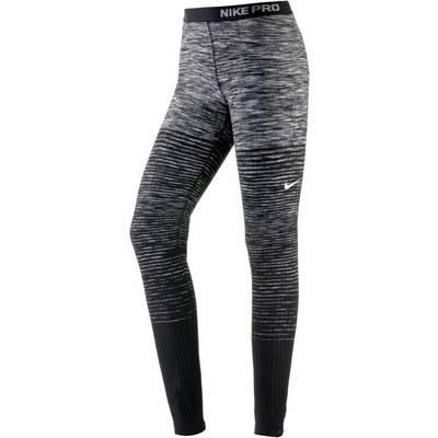 Nike Pro Hyperwarm Tights Damen dark grey-black
