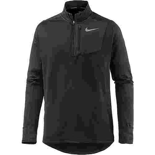 Nike Therma Sphere Element Laufshirt Herren black