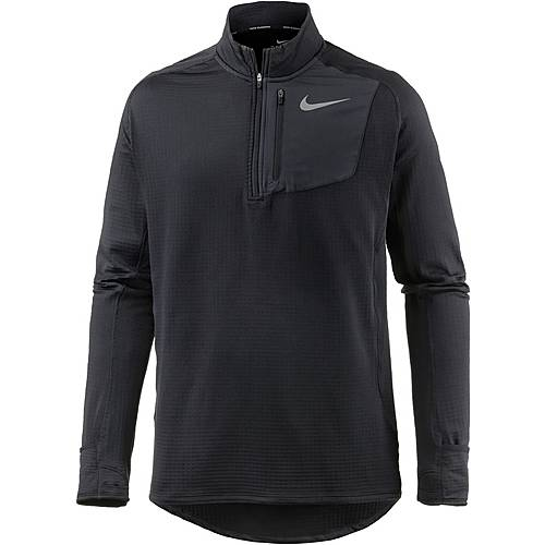 Nike Therma Sphere Element Laufshirt Herren black
