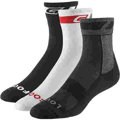 GripGrab Socks Bundle Fahrradsocken black
