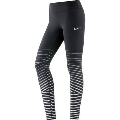 Nike Power Flash Epic Lauftights Damen black-anthracite
