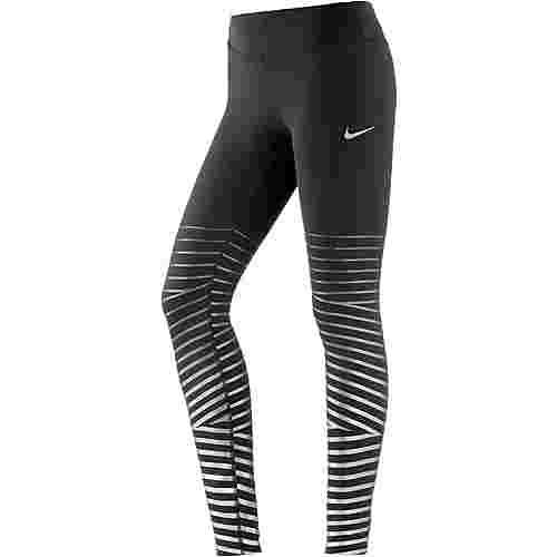 Nike Power Flash Epic Lux Lauftights Damen black-anthracite