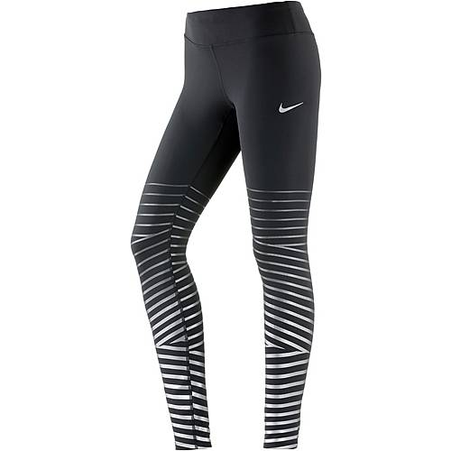 Nike Power Flash Epic Lux Lauftights Damen black-anthracite