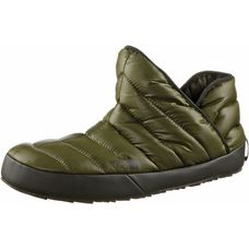 The North Face ThermoBall™ Traction Bootie Hausschuhe Herren shiny burnt olive green-black ink green
