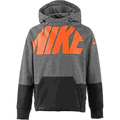 Nike Funktionssweatshirt Kinder carbon-heather-black
