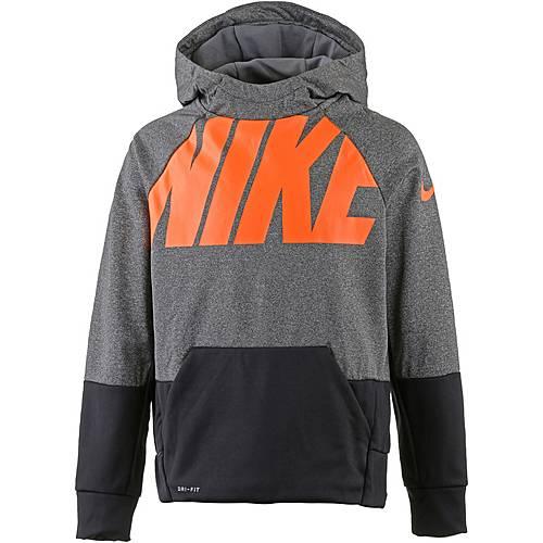Nike Funktionssweatshirt Kinder carbon-heather-black