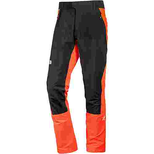 The North Face Summit L1 Softshellhose Herren fiery red-tnf black