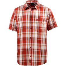 Jack Wolfskin Hot Chili Kurzarmhemd Herren volcano red checks