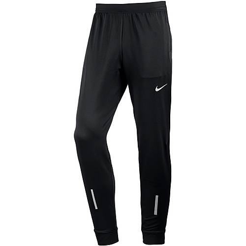 Nike Dry Laufhose Herren black-reflective-silv