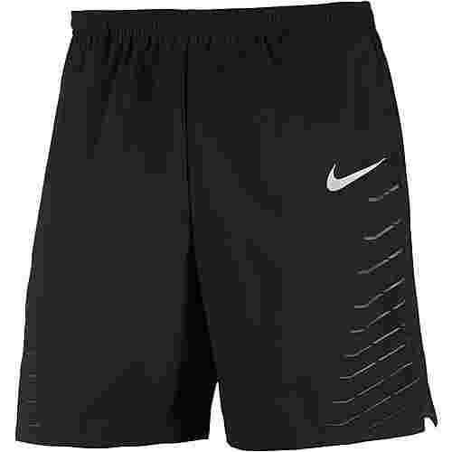 Nike Flex Laufshorts Herren black-anthracite-reflective-silv