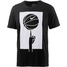 Nike T-Shirt Herren black-black