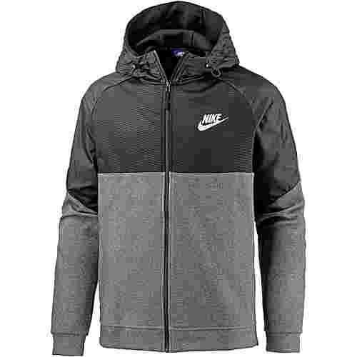 Nike NSW AV15 Sweatjacke Herren charcoal-heathr-black-white