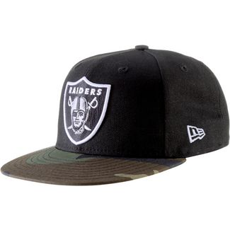 New Era 59FIFTY OAKLAND RAIDERS Cap woodland camo/snow gray