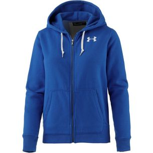 Under Armour Favorite Sweatjacke Damen lapis blue light heather-white-lapis blue