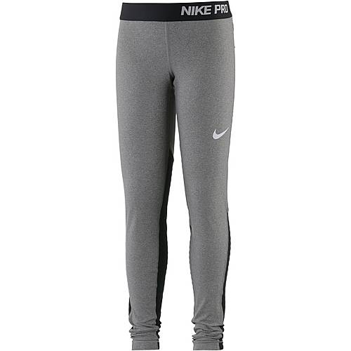 Nike Tights Kinder carbon-heather-black-black-white