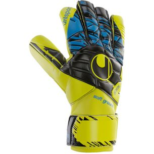 Uhlsport SPEED UP NOW SOFT HN COMP Torwarthandschuhe Herren LITE fluo gelb-schwarz-hy