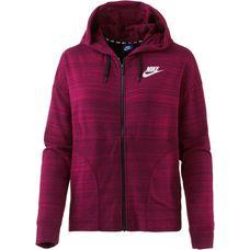 Nike Advanced Knit Sweatjacke Damen noble red-white