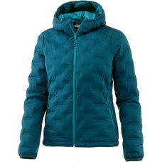 Mountain Hardwear Strechdown DS Hooded Daunenjacke Damen dark river