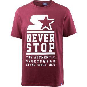 STARTER T-Shirt Herren rumba red
