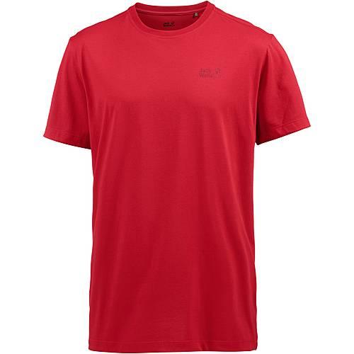 Jack Wolfskin Essential T T-Shirt Herren Peak red