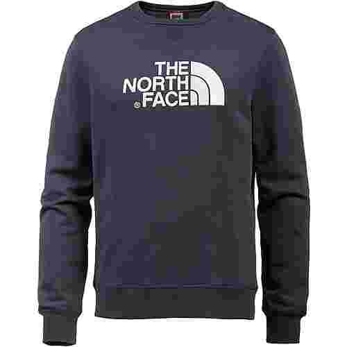 The North Face Drew Peak Crew Sweatshirt Herren urban navy-tnf white