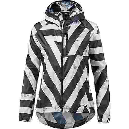 adidas agravic windbreaker damen white im online shop von sportscheck kaufen. Black Bedroom Furniture Sets. Home Design Ideas